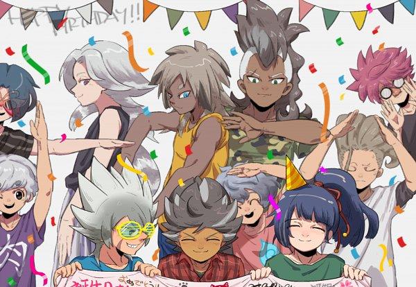 Tags: Anime, Pixiv Id 29761260, Inazuma Eleven: Ares no Tenbin, Okano Kousuke (Inazuma Eleven: Ares No Tenbin), Nosaka Yuuma, Kousaka Ranto, Tanizaki Yoshiya, Kusaka Gen, Michiba Atsunori, Sakuraba Haruki, Okuno Hosomichi, Haoto Ichiya, Nishikage Seiya