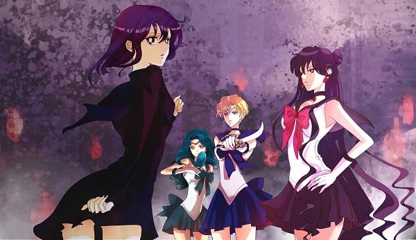 Tags: Anime, Bishoujo Senshi Sailor Moon, Sailor Uranus, Meiou Setsuna, Kaiou Michiru, Tenou Haruka, Tomoe Hotaru, Sailor Pluto, Sailor Neptune, Space Sword, Deep Aqua Mirror, Pixiv, Fanart