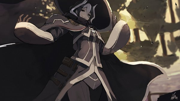 Tags: Anime, Lansane, Made in Abyss, Ouzen (Made in Abyss), Black Cape, Pixiv, Fanart, White Whistles