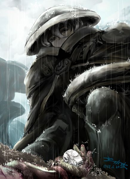 Tags: Anime, Pixiv Id 4460037, Made in Abyss, Ouzen (Made in Abyss), Pixiv, Fanart, Fanart From Pixiv, White Whistles