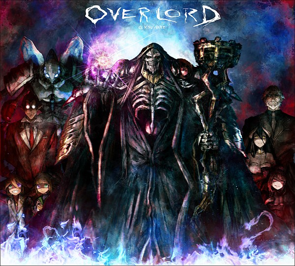 Tags: Anime, Kei-suwabe, Overlord, Demiurge (Overlord), Albedo (Overlord), Mare Bello Fiore, Aura Bella Fiora, Sebas Tian, Shalltear Bloodfallen, Cocytus (Overlord), Ainz Ooal Gown