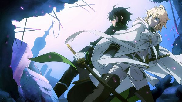 Tags: Anime, FCC, Hyakuya Mikaela, Wallpaper, Facebook Cover, Seraph Of The End