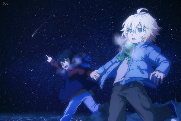 Tags: Anime, FCC, Owari no Seraph, Hyakuya Mikaela, Hyakuya Yuuichirou, Shooting Stars, Pixiv, Fanart, Fanart From Pixiv, Seraph Of The End
