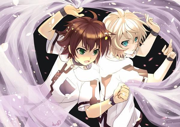 Tags: Anime, Pixiv Id 12140685, Owari no Seraph, Hyakuya Mikaela, Hyakuya Yuuichirou, Fanart From Pixiv, Pixiv, Fanart, MikaYuu, Seraph Of The End