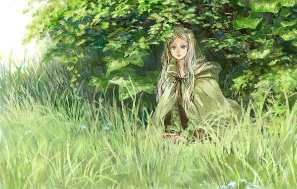 Tags: Anime, Oyabin (artist), Detailed, Pixiv, Original, Watercolor, Traditional Media
