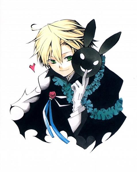 Tags: Anime, Mochizuki Jun, Pandora Hearts, Pandora Hearts ~Odds And Ends~, B Rabbit, Oz Vessalius, Official Art, Scan