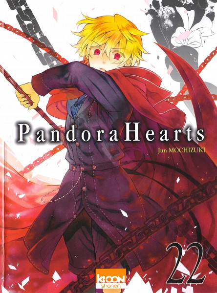 Tags: Anime, Mochizuki Jun, Pandora Hearts, Oz Vessalius, B Rabbit, Manga Cover, Official Art, Scan