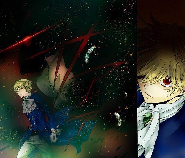 Tags: Anime, Mochizuki Jun, ShionMion, Pandora Hearts, Alice Baskerville, B Rabbit, Oz Vessalius, deviantART, Colorization