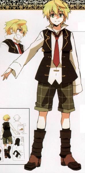 Tags: Anime, Xebec, Pandora Hearts, Oz Vessalius, Official Art, Scan