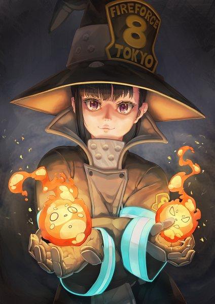 Tags: Anime, Pixiv Id 6946548, Enen no Shouboutai, Oze Maki, Pixiv, Fanart, Fanart From Pixiv