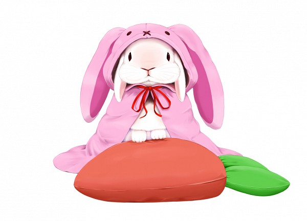 Tags: Anime, P-F Lilac, Stuffed Carrot, Stuffed Food