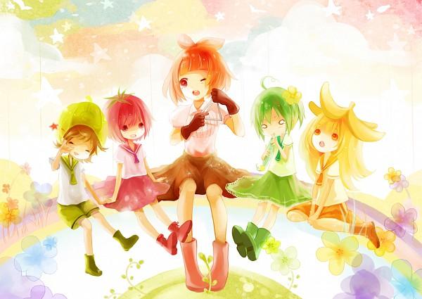 Tags: Anime, Sign.kyuu, Arakawa Under the Bridge, P-ko, Fruit (Personification), Pixiv