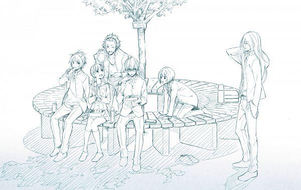 Tags: Anime, Nono Kanako, PRINCE OF STRIDE, Sakurai Nana, Yagami Riku, Kohinata Hozumi, Hasekura Heath, Fujiwara Takeru, Kuga Kyosuke, Twitter, PNG Conversion, Official Art