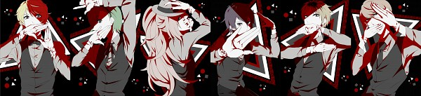 Tags: Anime, Pixiv Id 3763063, PRINCE OF STRIDE, Suwa Reiji, Okumura Kaede, Mayuzumi Shizuma, Mayuzumi Asuma, Chiyomatsu Bantarou, Senoo Tasuku, Fanart From Pixiv, Pixiv, Fanart