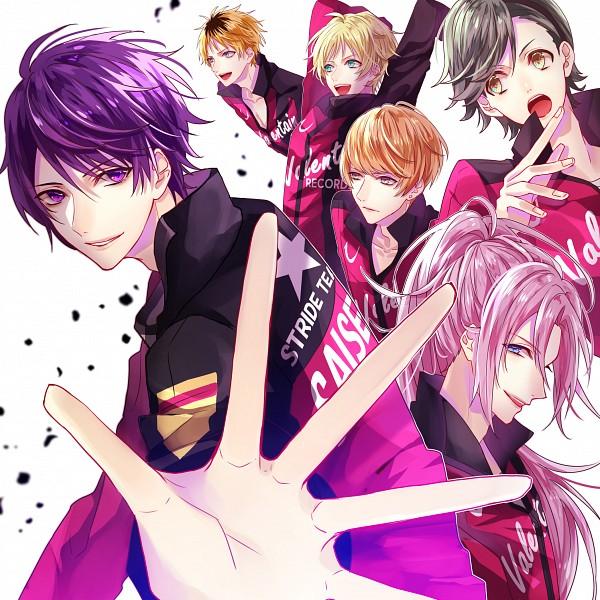 Tags: Anime, Pixiv Id 13167219, PRINCE OF STRIDE, Okumura Kaede, Mayuzumi Shizuma, Mayuzumi Asuma, Chiyomatsu Bantarou, Senoo Tasuku, Suwa Reiji, Pixiv, Fanart, Fanart From Pixiv, PNG Conversion