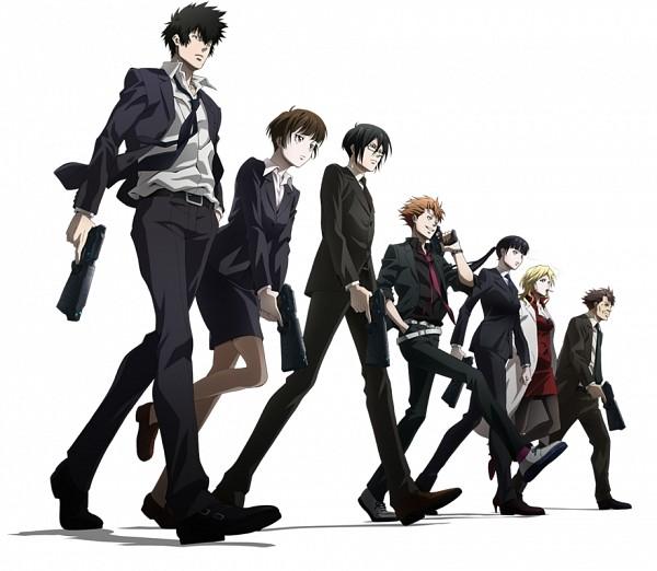 Tags: Anime, PSYCHO-PASS, Tsunemori Akane, Masaoka Tomomi, Kougami Shinya, Ginoza Nobuchika, Karanomori Shion, Kunizuka Yayoi, Kagari Shuusei, Official Art