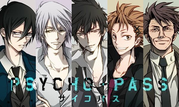 Tags: Anime, LEO*PON, PSYCHO-PASS, Kougami Shinya, Makishima Shougo, Kagari Shuusei, Masaoka Tomomi, Ginoza Nobuchika, Pixiv