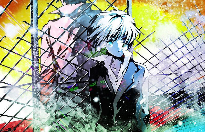 Tags: Anime, Ichinose777, PSYCHO-PASS, Tsunemori Akane, Kougami Shinya, Fanart