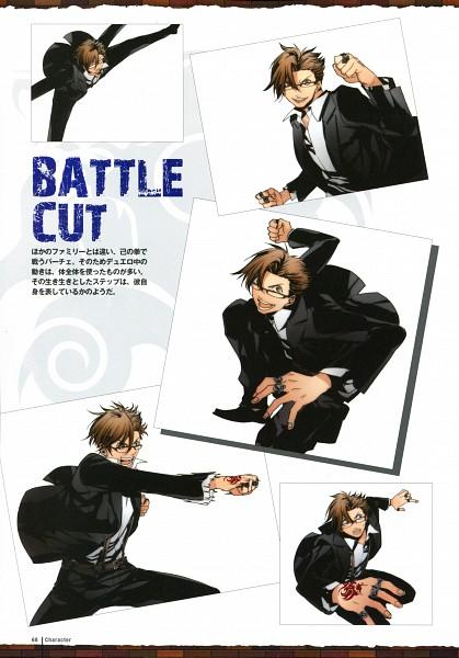 Tags: Anime, Sarachi Yomi, La storia della Arcana Famiglia, Pace, Scan, Official Art