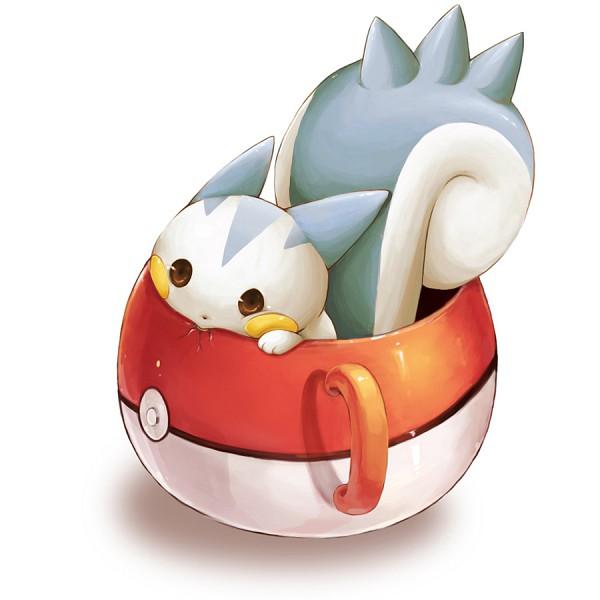 Tags: Anime, Super15rrr, Pokémon, Pachirisu, Cracks, Pokéball Mug