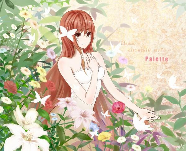 Tags: Anime, Ceila, VOCALOID, Lyrics, Fanart, Palette (Song)