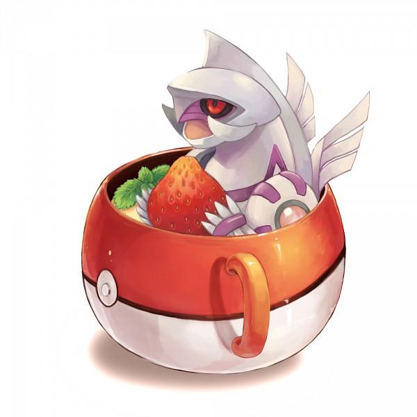 Tags: Anime, Siratama Zenzai, Pokémon, Palkia, Pokéball Mug, Fanart From Pixiv, Fanart, Legendary Pokémon, Pixiv