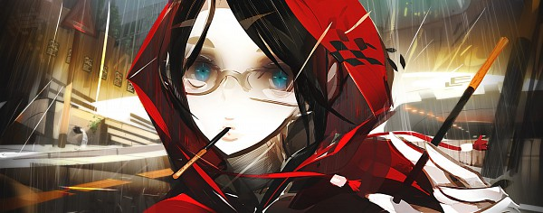 Tags: Anime, Panamaman, Red Riding Hood, Pixiv, Original, Facebook Cover