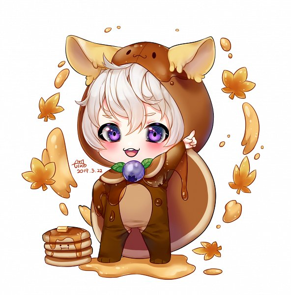 Tags: Anime, Pixiv Id 16273440, Cookie Run, Pancake Cookie, Fanart From Pixiv, Pixiv, Fanart