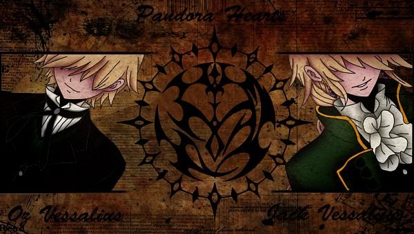 Tags: Anime, Pandora Hearts, Jack Vessalius, Oz Vessalius, Facebook Cover