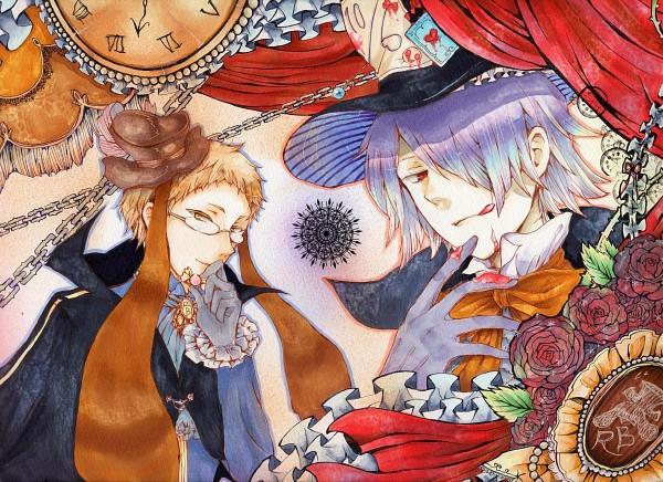 Tags: Anime, Pixiv Id 2517500, Pandora Hearts, Alice in Wonderland, Reim Lunettes, Xerxes Break, Mad Hatter, Mad Hatter (Cosplay), Pixiv, Fanart, Fanart From Pixiv