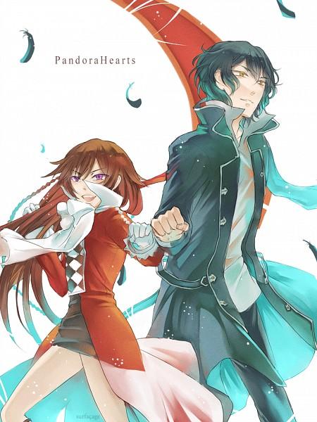 Tags: Anime, Amazon (Artist), Pandora Hearts, Gilbert Nightray, Alice Baskerville, Fanart, Tumblr