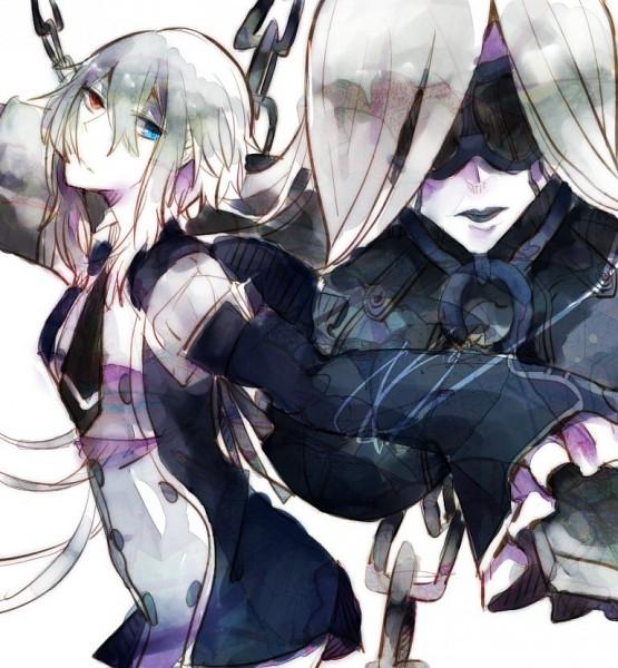Tags: Anime, Pandora Hearts, Dolldam (Character), Zwei (Pandora Hearts), Echo, Doldum (Chain), Pixiv