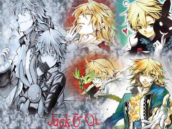 Tags: Anime, SQUARE ENIX, Pandora Hearts, Jack Vessalius, Oz Vessalius, Wallpaper