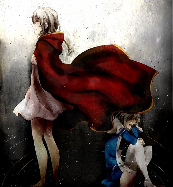 Tags: Anime, pianorei, Pixiv Id 5916185, Pandora Hearts, Zwei (Pandora Hearts), Echo, Pixiv, Fanart From Pixiv, Fanart
