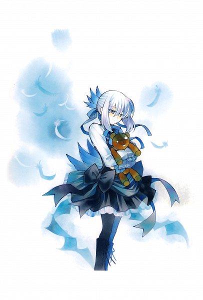 Tags: Anime, Mochizuki Jun, Pandora Hearts, Pandora Hearts ~Odds And Ends~, Echo, Juota-san, Mobile Wallpaper, Official Art, Scan