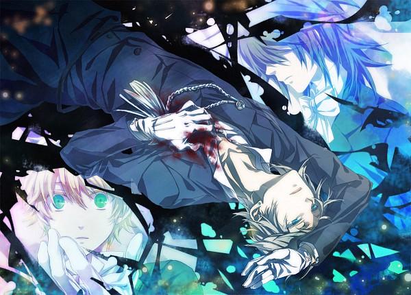 Tags: Anime, Lightning (Pixiv 2456252), Pandora Hearts, Leo Baskerville, Elliot Nightray, Oz Vessalius, Fanart From Pixiv, Pixiv, Fanart