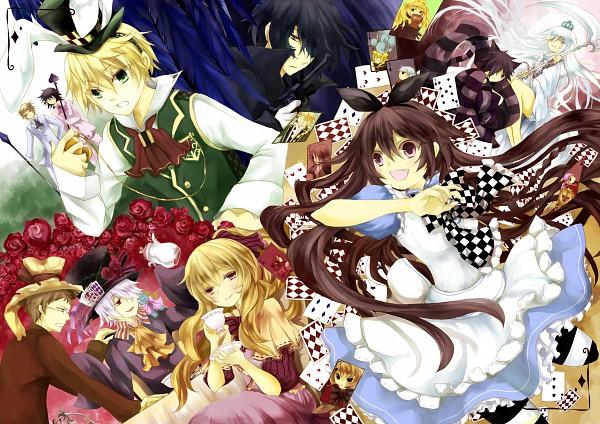 Tags: Anime, Lampnote17, SQUARE ENIX, Alice in Wonderland, Pandora Hearts, Cheshire Cat (Pandora Hearts), Jack Vessalius, Cheshire Cat, Leo Baskerville, Xerxes Break, Alice (Alice in Wonderland), Oz Vessalius, Elliot Nightray