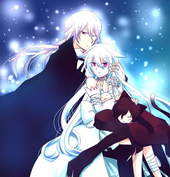 Tags: Anime, Sausu, SQUARE ENIX, Pandora Hearts, Xerxes Break, Cheshire Cat (Pandora Hearts), Will of the Abyss