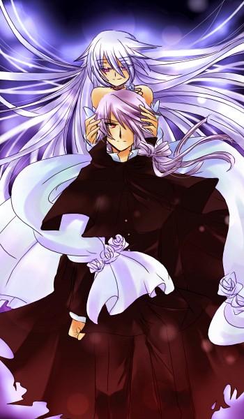 Tags: Anime, Sausu, SQUARE ENIX, Pandora Hearts, Will of the Abyss, Xerxes Break, Mobile Wallpaper