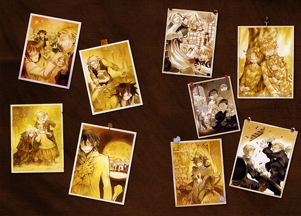 Tags: Anime, Mochizuki Jun, Xebec, SQUARE ENIX, Pandora Hearts, Emily (Pandora Hearts), Oscar Vessalius, Elliot Nightray, Ada Vessalius, Reim Lunettes, Leo Baskerville, Xerxes Break, Oz Vessalius