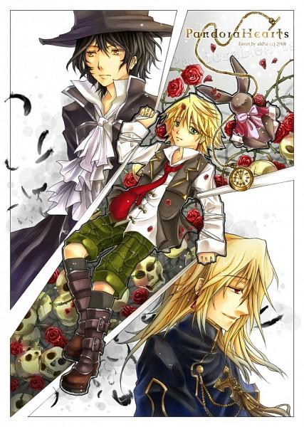 Tags: Anime, SQUARE ENIX, Pandora Hearts, Vincent Nightray, Gilbert Nightray, Oz Vessalius, Pocket Watch, Nightray Family