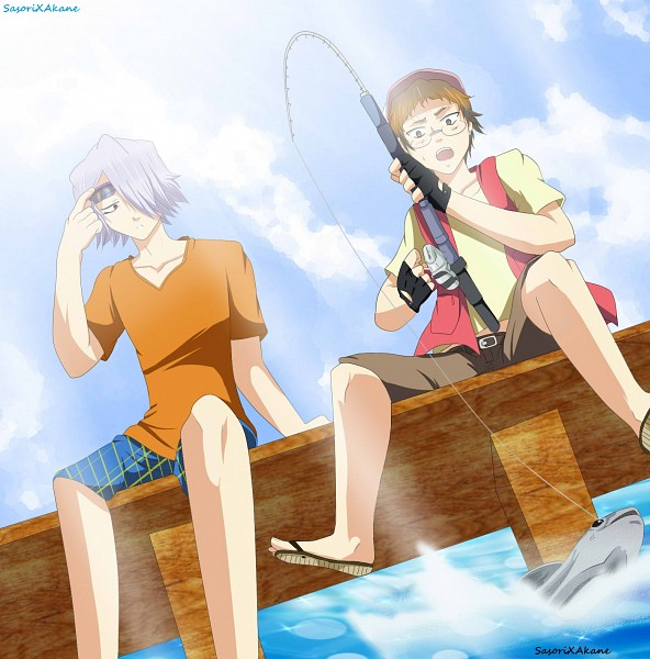 Tags: Anime, SasoriXAkane, SQUARE ENIX, Pandora Hearts, Reim Lunettes, Xerxes Break, Fishing Rod, Fishing