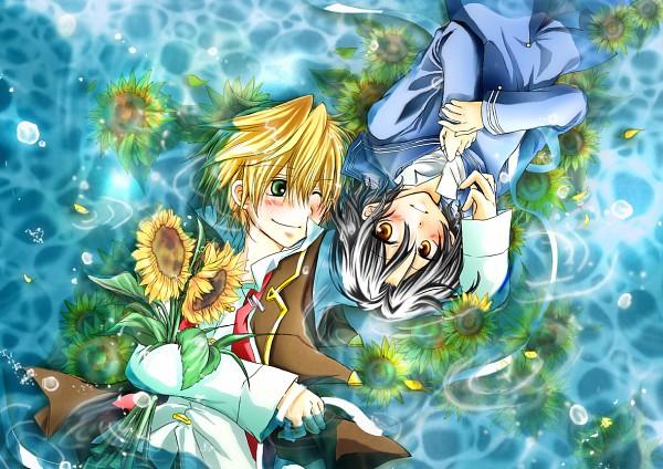 Tags: Anime, Pixiv Id 670875, SQUARE ENIX, Pandora Hearts, Oz Vessalius, Gilbert Nightray, Fanart