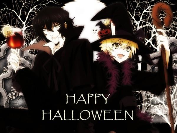 Tags: Anime, SQUARE ENIX, Pandora Hearts, Gilbert Nightray, Oz Vessalius, Graveyard, Grave, Dracula, Wallpaper