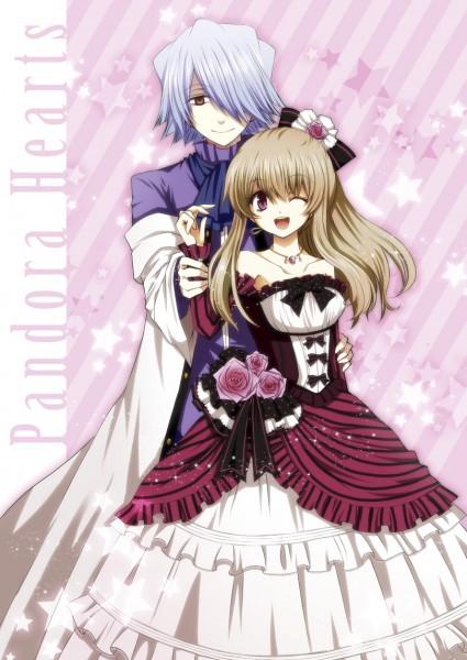 Tags: Anime, Kuroe (Sugarberry), Pandora Hearts, Xerxes Break, Sharon Rainsworth, Gown, Pixiv, Mobile Wallpaper, Fanart