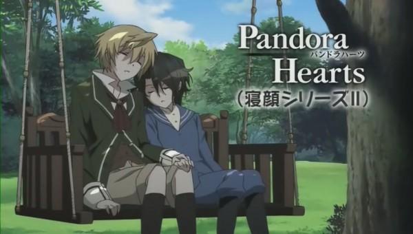 Tags: Anime, Xebec, Pandora Hearts, Oz Vessalius, Gilbert Nightray, Screenshot, Omake, Facebook Cover