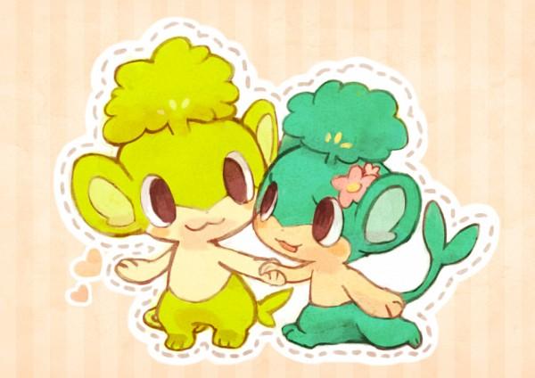 Pansage - Pokémon