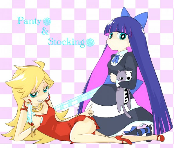 Tags: Anime, Panty and Stocking With Garterbelt, Honekoneko, Anarchy Stocking, Anarchy Panty