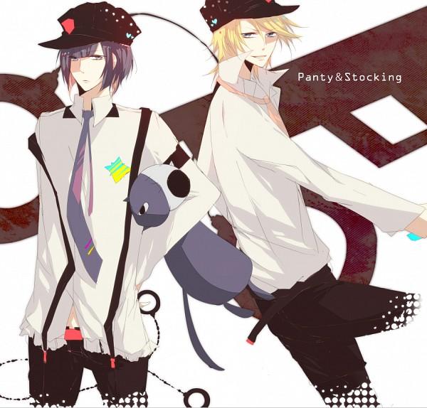 Tags: Anime, Yukinari000, Panty and Stocking With Garterbelt, Honekoneko, Anarchy Stocking, Anarchy Panty