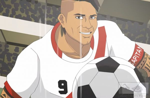 Tags: Anime, Paolo Guerrero, 2018 FIFA World Cup, Soccer Players